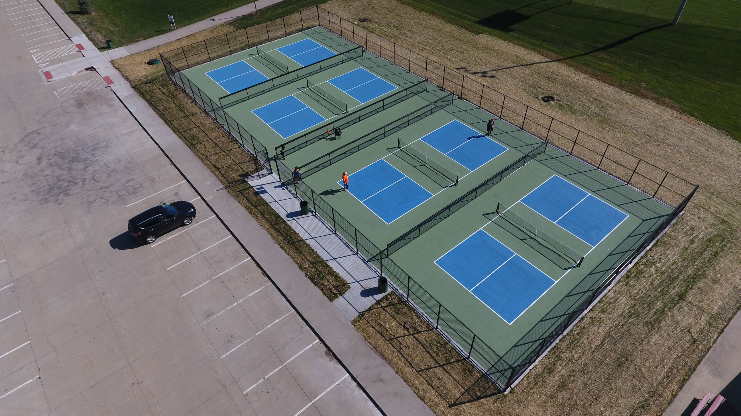 Pickleball Courts at Walker Johnston Park