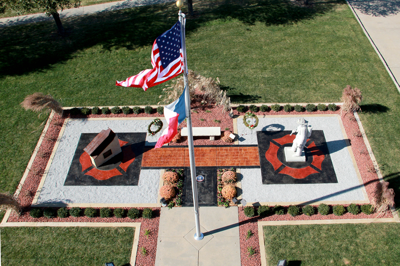 Memorial as Seen From Above