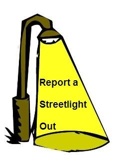 Report A Streetlight Out