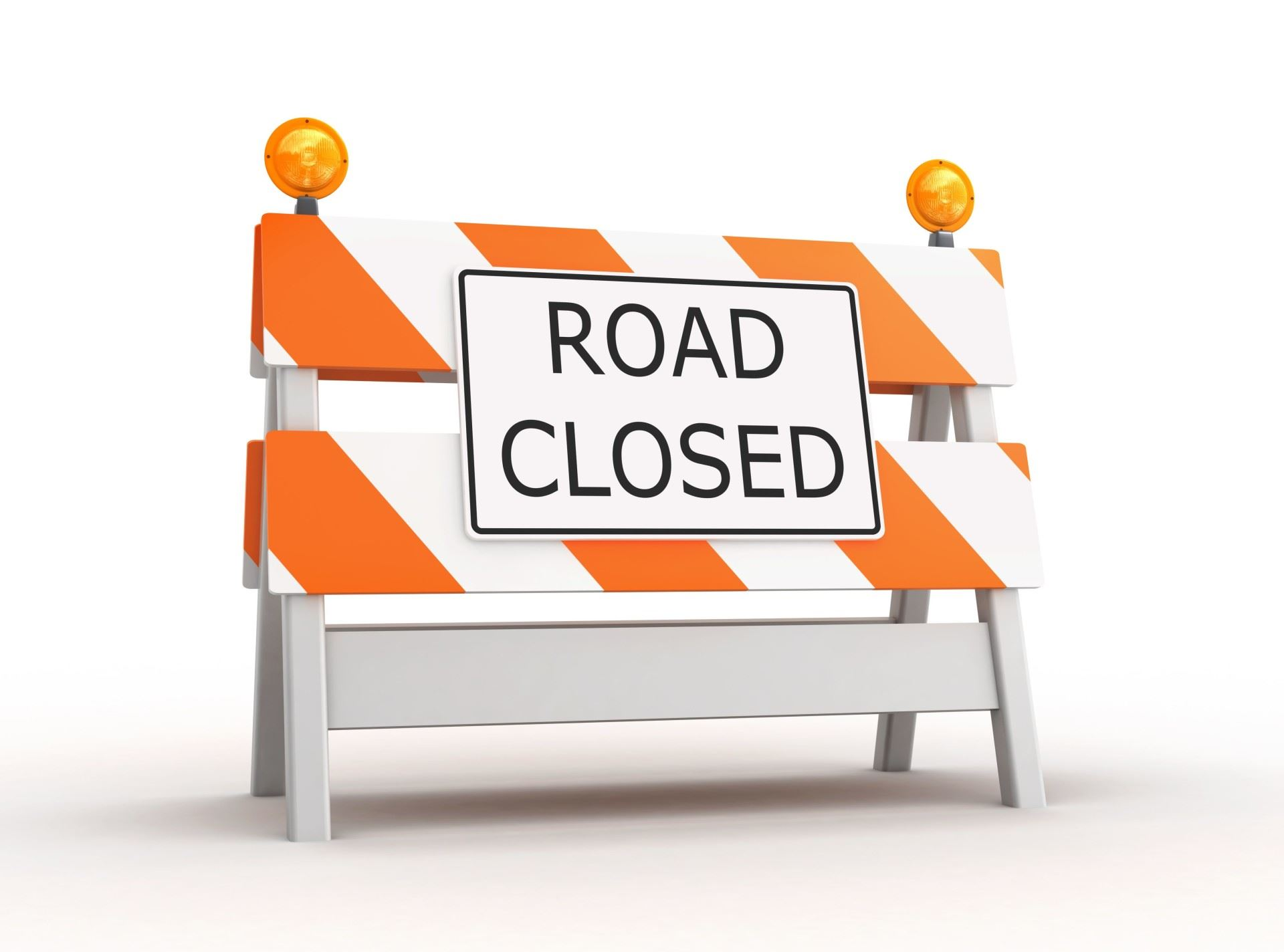 Graphic for Road Closed