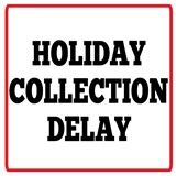 Graphic for a Garbage Holiday Collection Delay