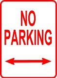 Clip art for No Parking Sign