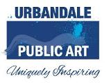 Logo for the Urbandale Public Art Committee
