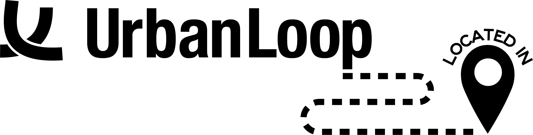 Urban Loop Black Logo