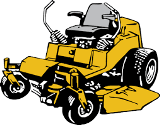 Clip art for contract mowing
