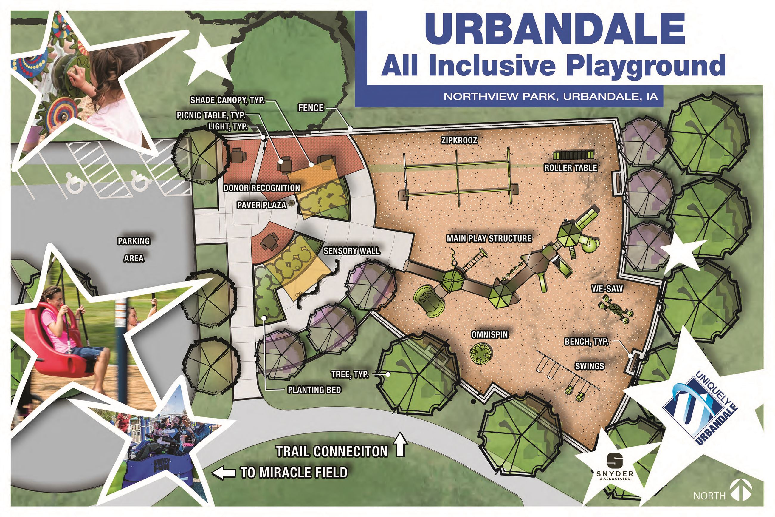 Urbandale-Inclusive Playground Sketch