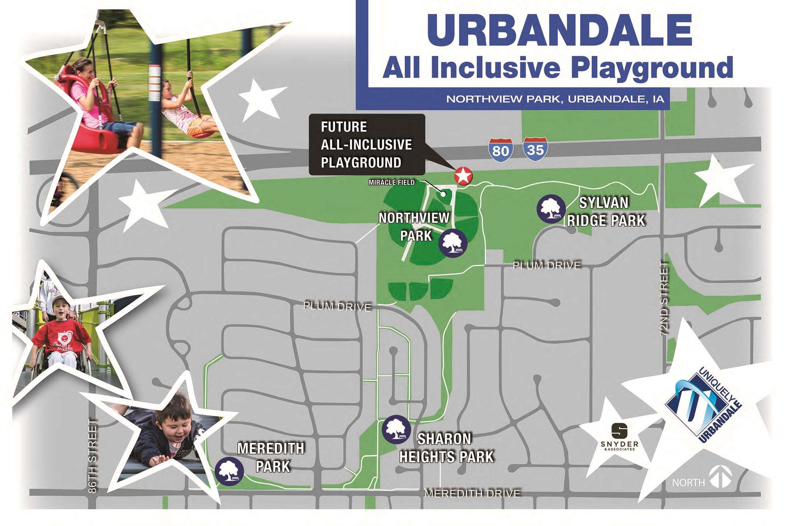 Urbandale-Inclusive Playground Sketch Location