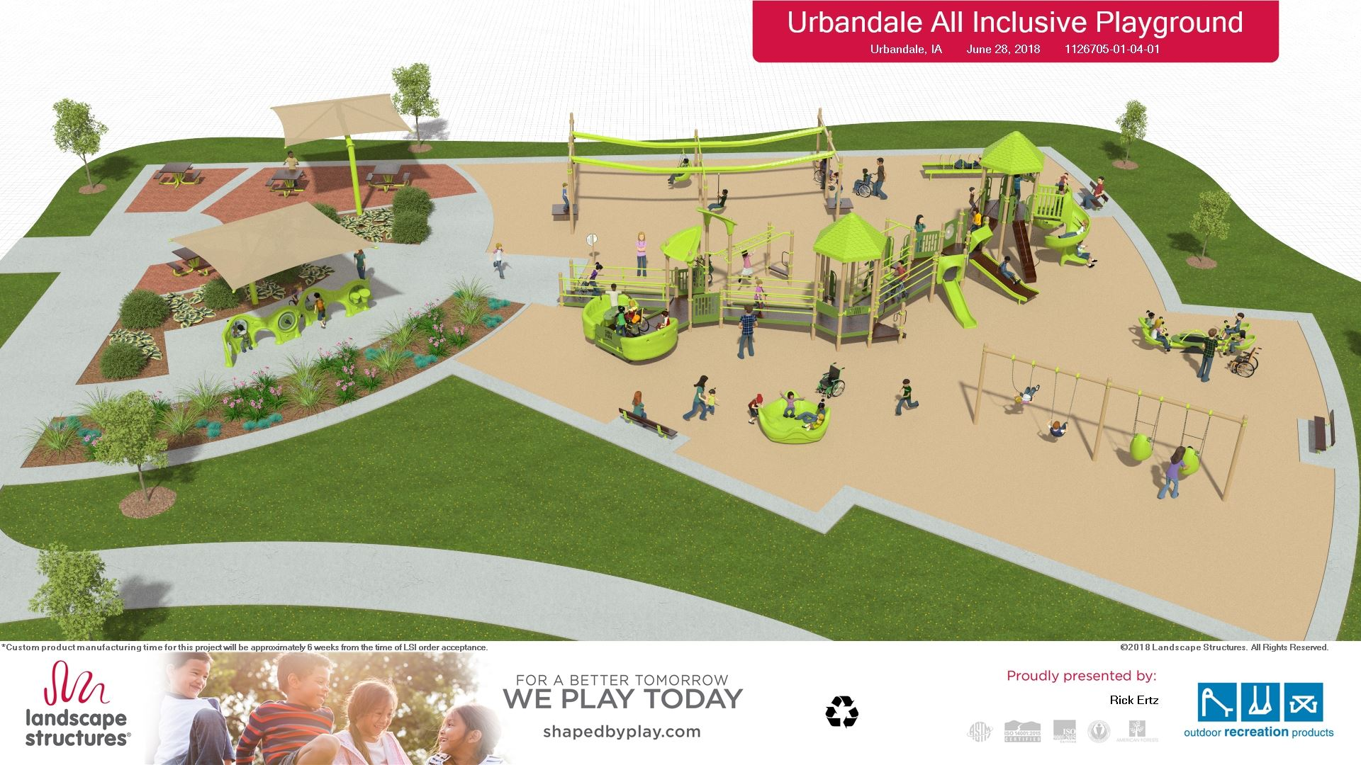 7-5-18  Playground rendering - Landscape Structures