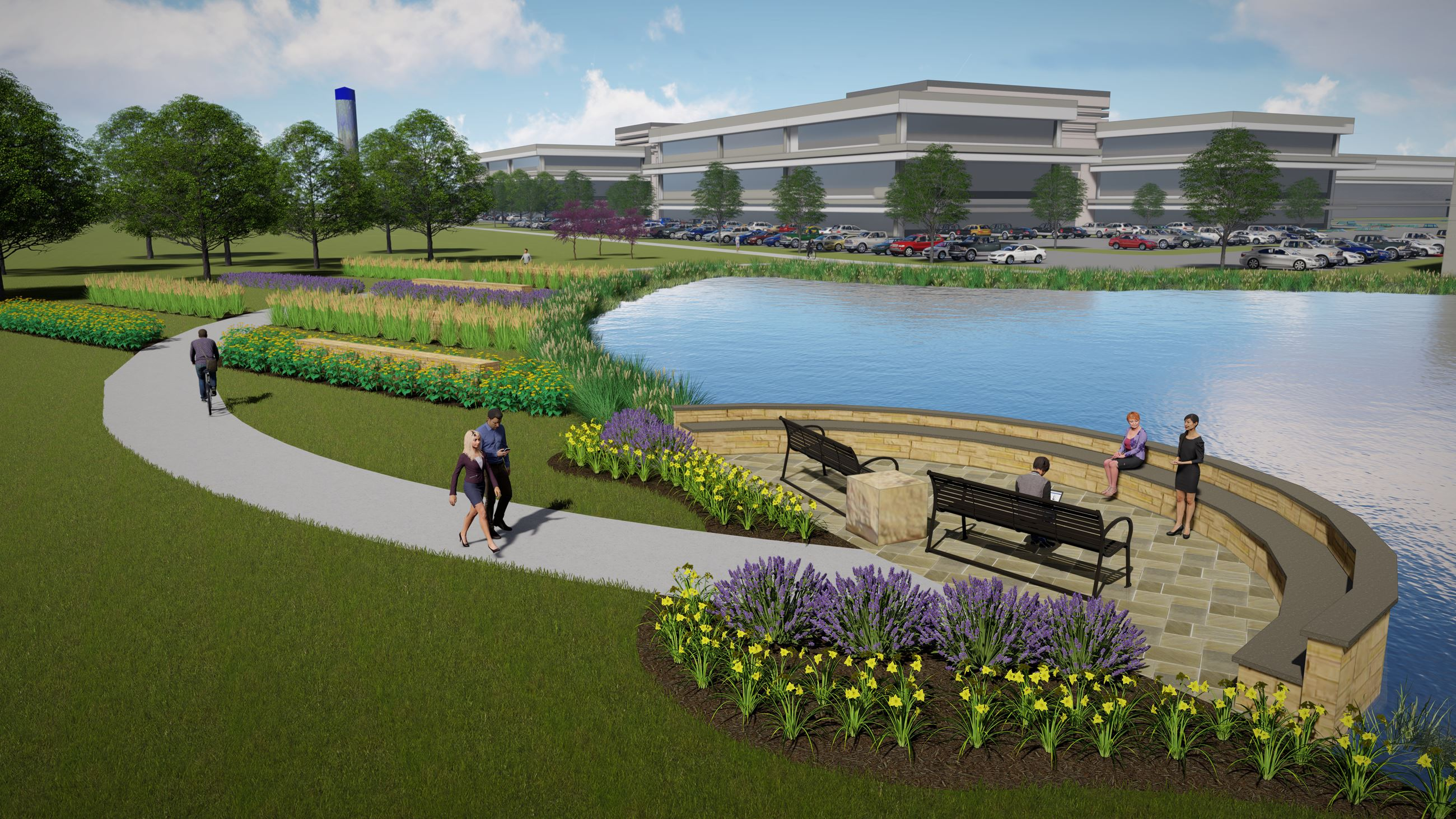Urban Loop Workforce Amenities Concept