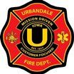 Logo for the Urbandale Fire Department