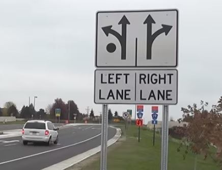 Roundabout Signs