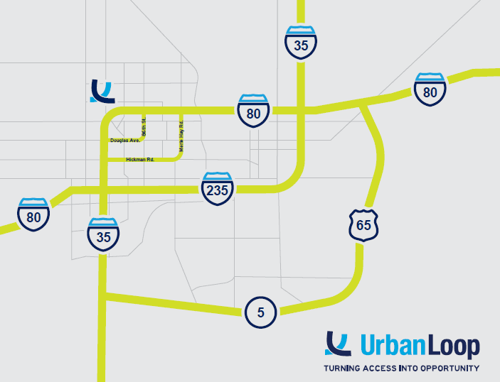Urban Loop Map