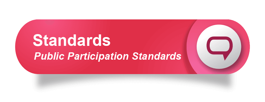 Standards of Public Participation Button