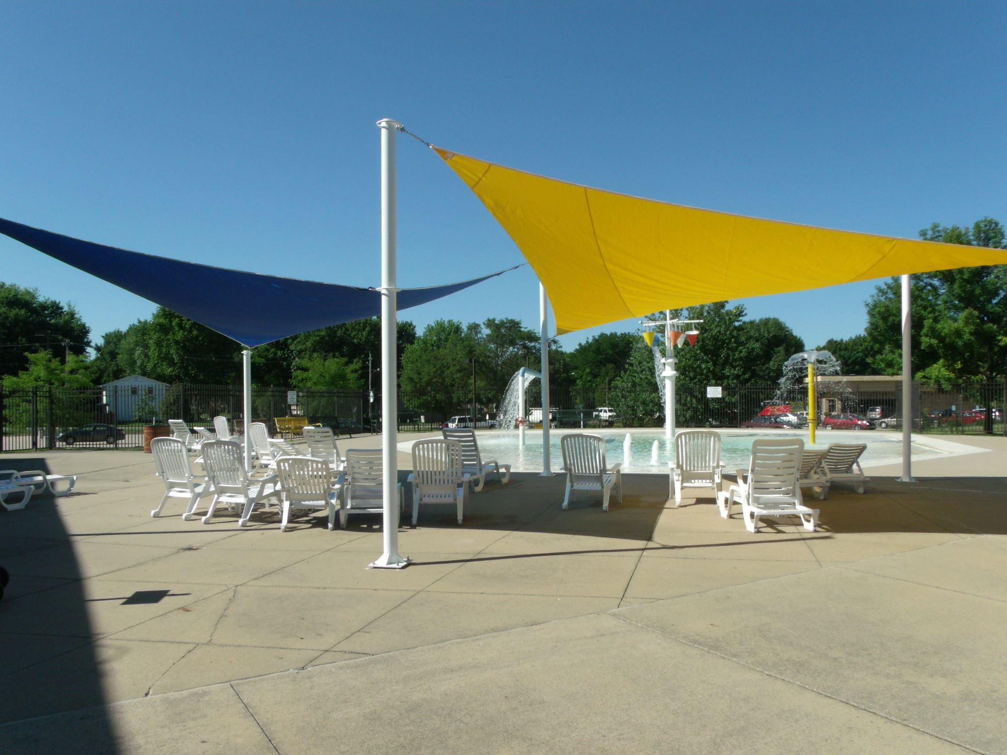 Photo of the aquatics playground