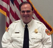 Assistant Chief of Training Mike Cardwell